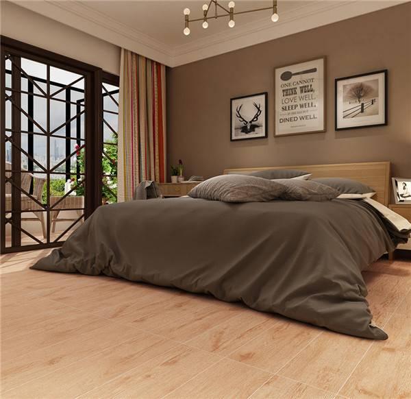 霜降|一葉知霜降,一雨感秋深,將木紋磚裝進家里吧