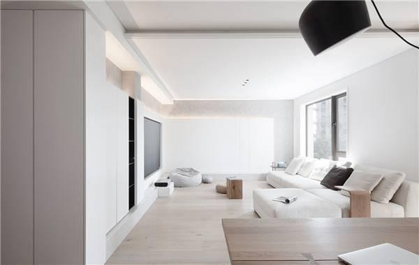 來了解下,木紋磚如何搭配素雅的白墻